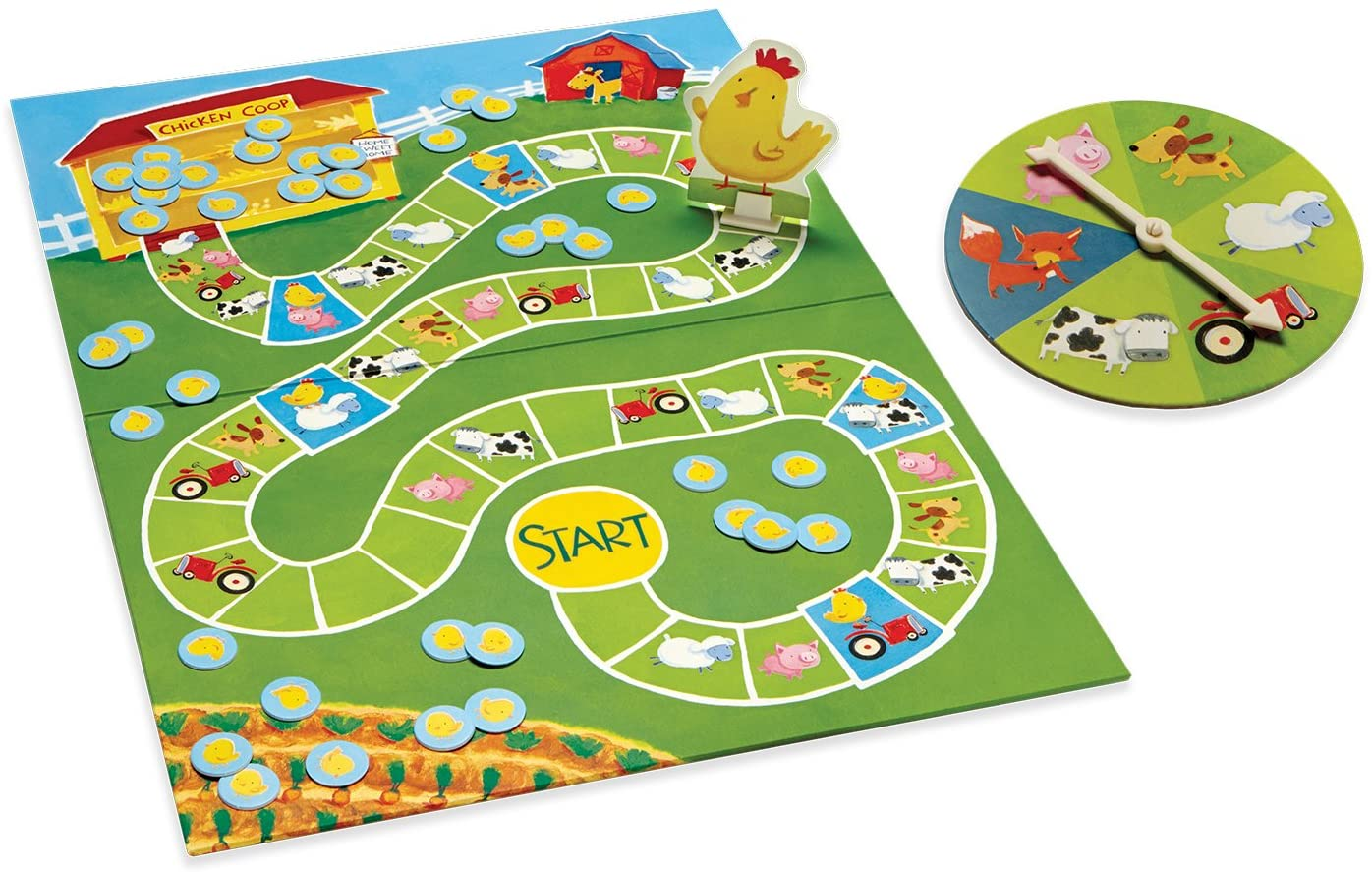 Count Your Chickens Board Game