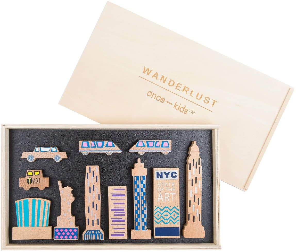 Wanderlust Wood + Felt Themed New York Play Set