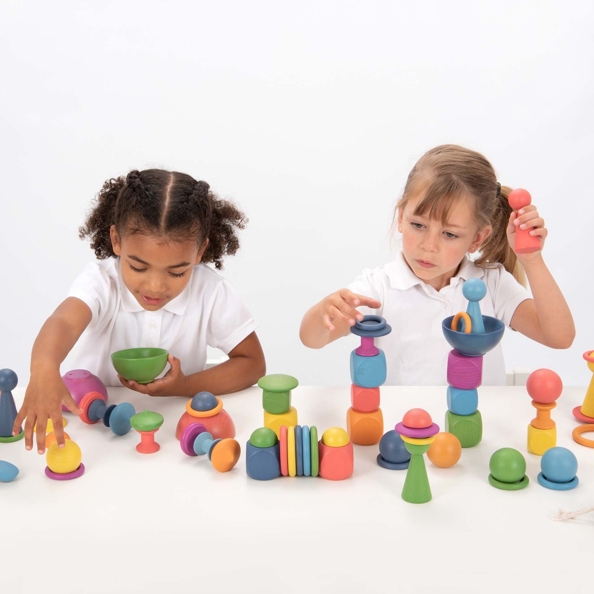 Wooden Rainbow Super Set