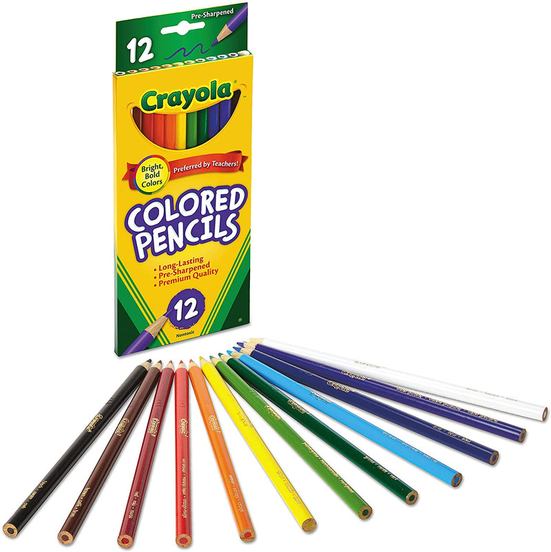 Colored Pencils, 12-Count