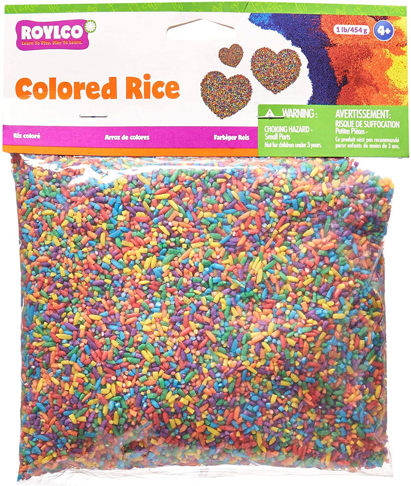Colored Rice, 1 Pound