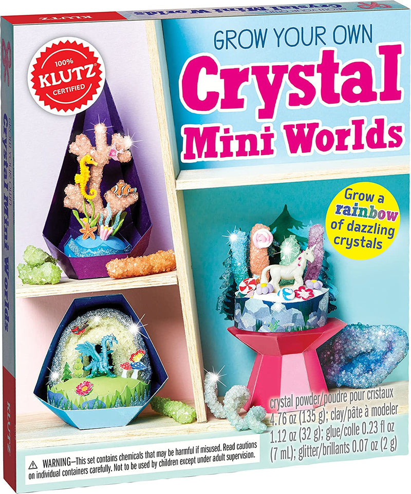 Grow Your Own Crystal Mini Worlds Craft and Science Kit