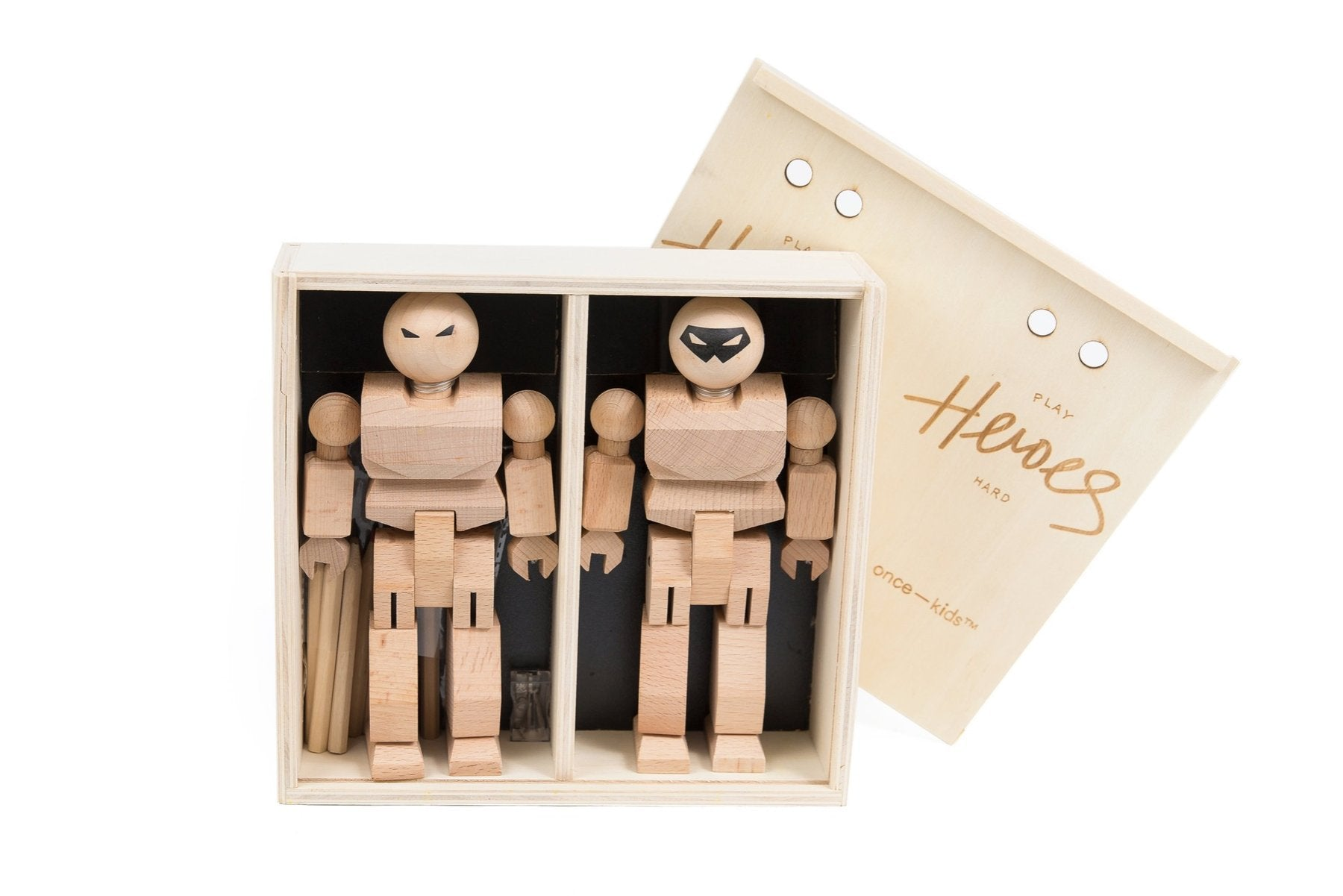 Playhard Heroes 2 Piece DIY Colored Pencils