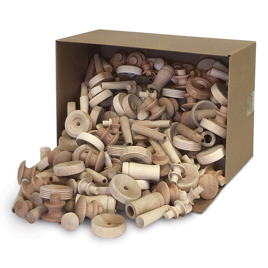 Natural Wood Turnings, 18 lbs