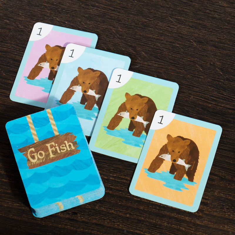 Mini Kids Card Games, 4-Pack