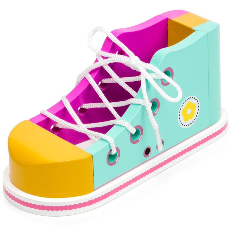 Cool Kicks Pink Lacing Shoe - Juniper Days