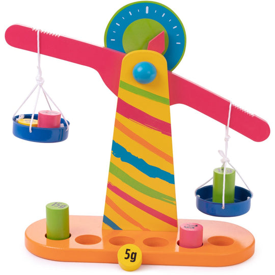 Weights And Measures Balancing Scale Montessori Learning Toy - Juniper Days