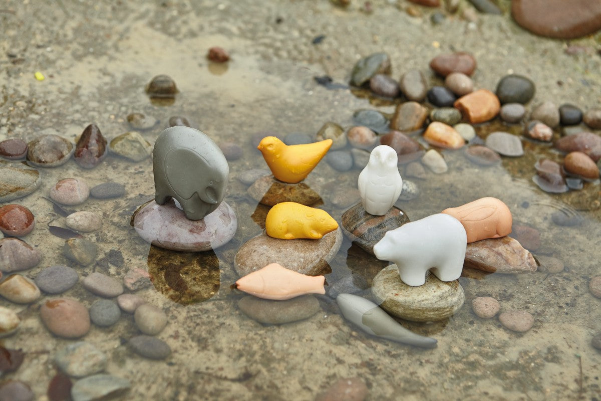 Stone Animal Friends Sensory Play Set