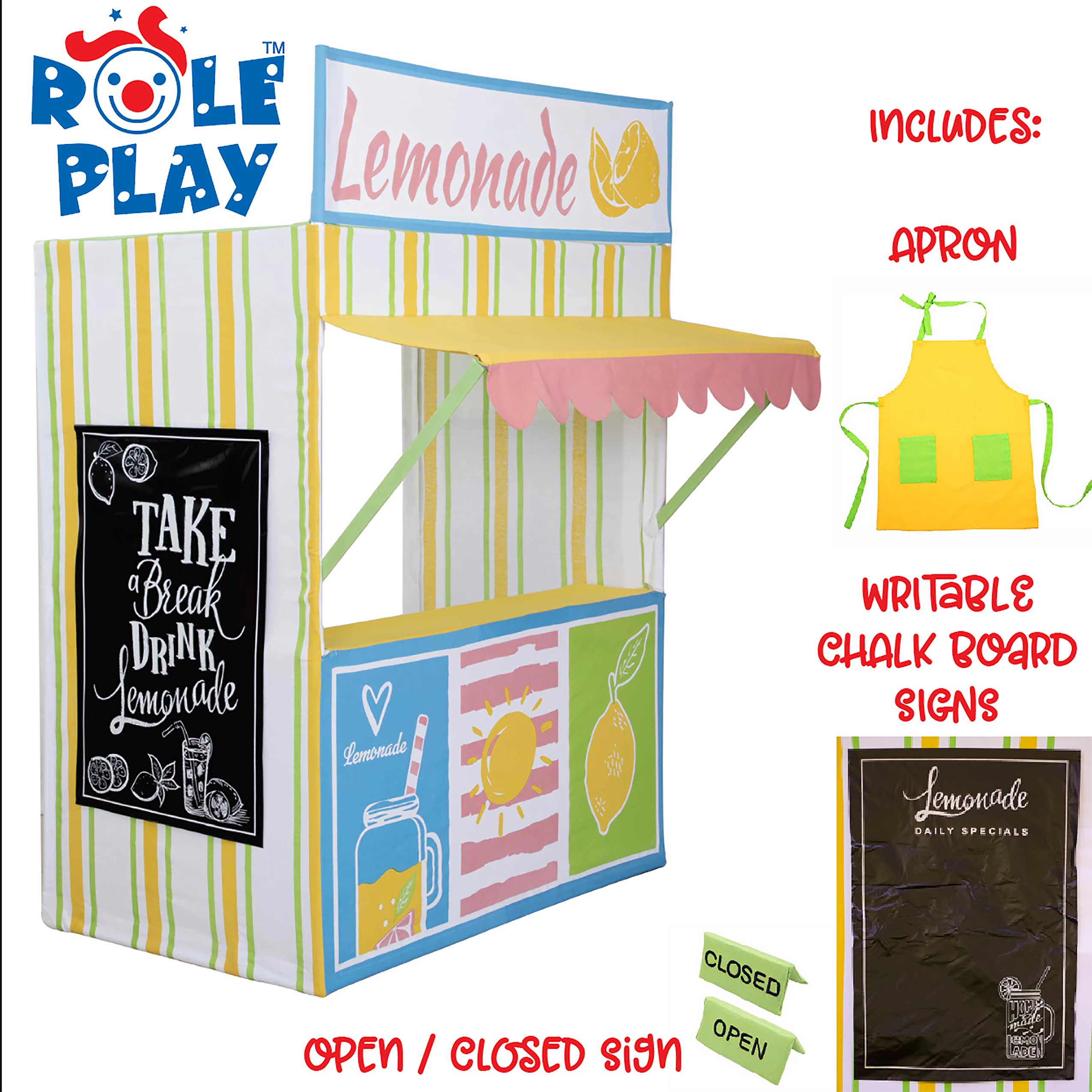 Deluxe Lemonade Play Tent