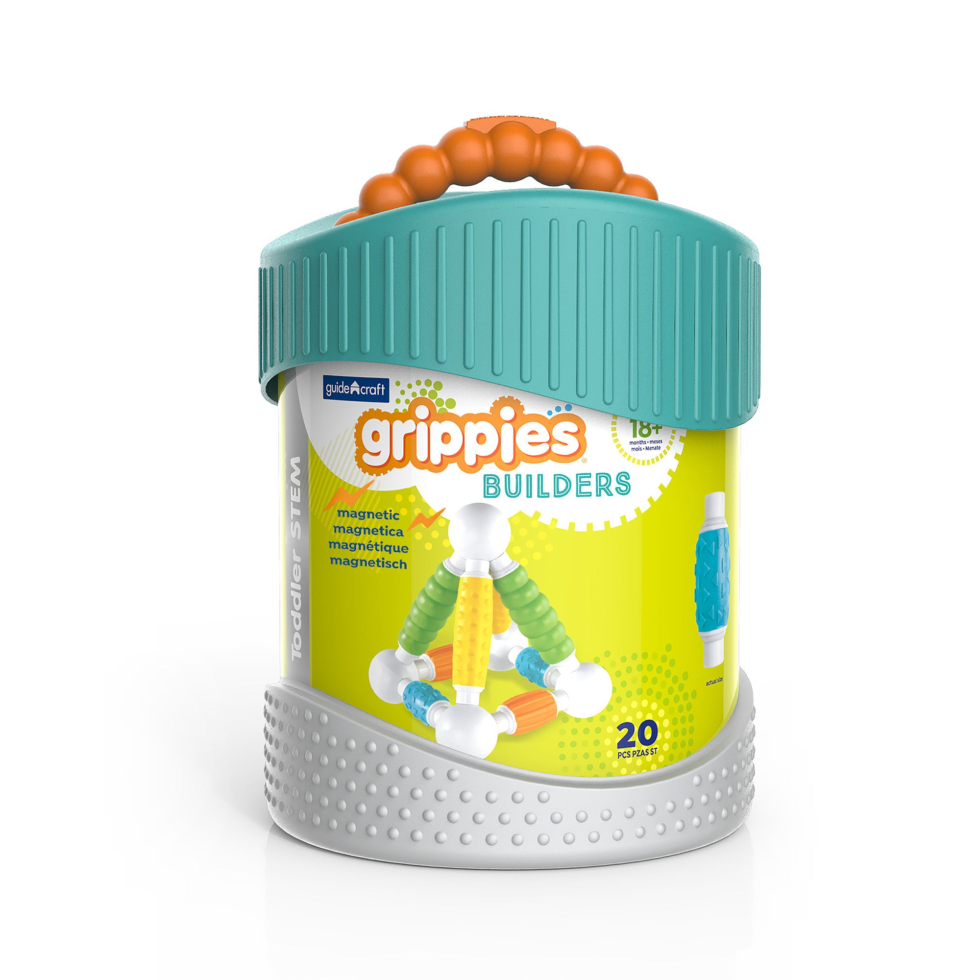 Grippies® Builders, 20 Piece Set
