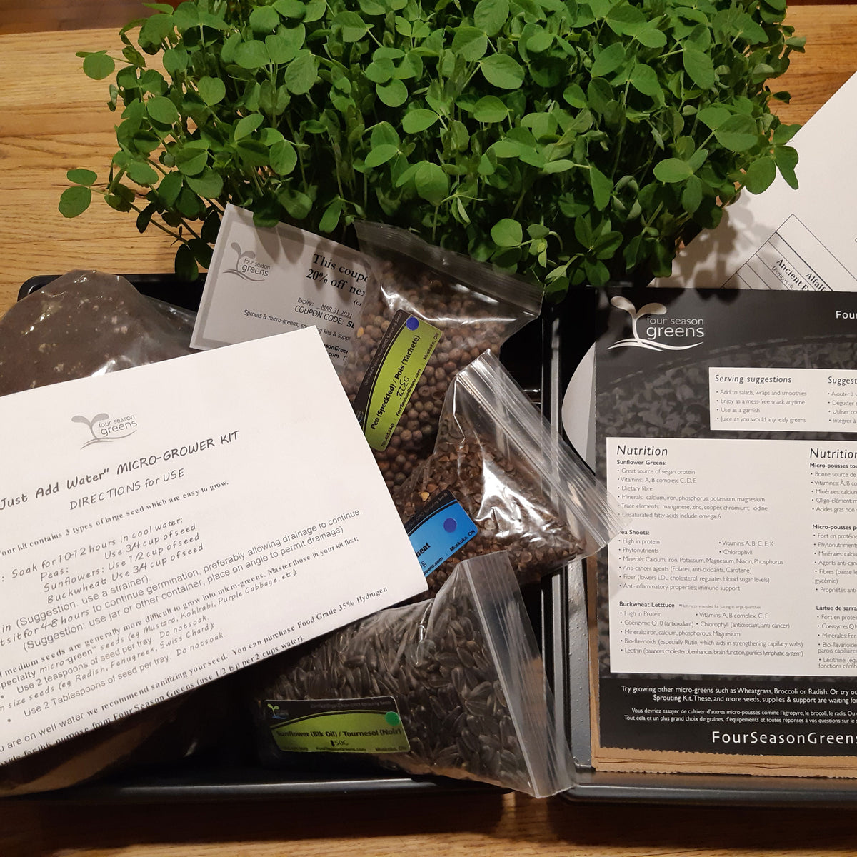 Micro-grower Kit