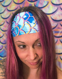 Mermaid Camo Head Band