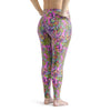 Plus Size Octofloral Splatterparty Leggings