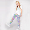 Kid's Psychedelic Mermaid Leggings
