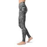 Deep Sea Recycled Leggings