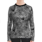 Plus Size Deep Sea Rashguard