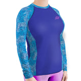 Plus Size Intima-Sea Lace Rashguard