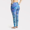 Plus Size Mermaid Camo Leggings