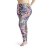 Plus Size White Lionfish Leggings
