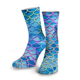 Mermaid Camo Dive Socks
