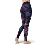 Galaxy Jellyfish Leggings