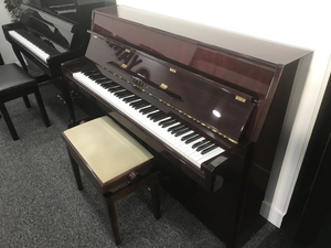 Second Hand Yamaha M108 Upright Piano; 4565602