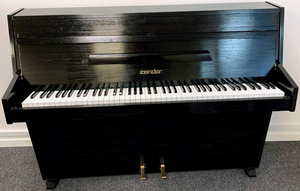Second Hand Zender Upright Piano; 7874