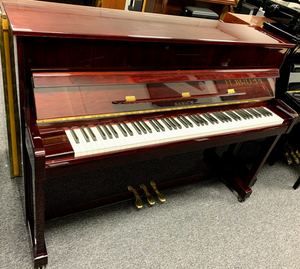 Second Hand Samick JS-112 Upright Piano; JHG00632