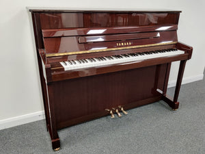 Second Hand Yamaha V114N Upright Piano; E297232