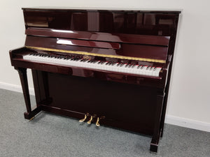Second Hand Carl Ebel Upright Piano; 23397