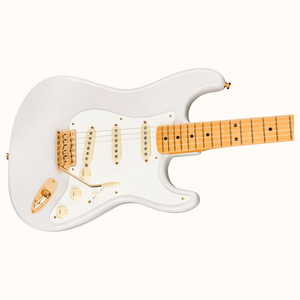 Fender Limited Edition American Original 50s Strat Maple Mary White Blonde Guitar