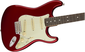 Fender American Original 60s Strat RW Candy Apple Red Guitar