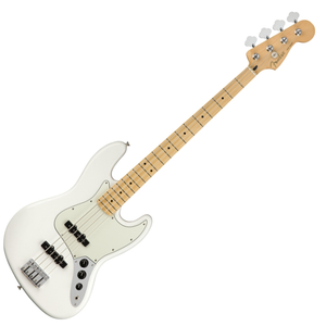 Fender Player Jazz Bass Maple Polar White