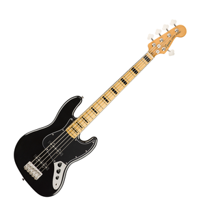 Squier Classic Vibe 70s Jazz Bass V Maple Black 5 String