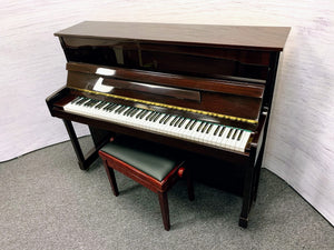 Second Hand W. Streicher Upright Piano; 50111074