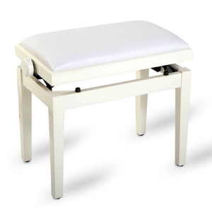 Feurich XD1 Piano Stool White Polished