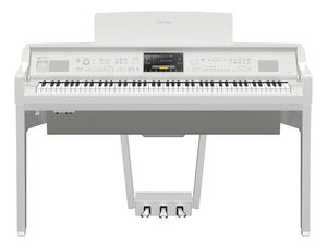 Yamaha CVP809PWH Polished White Digital Piano