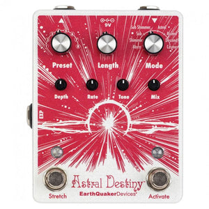 Earthquaker Devices Astral Destiny Octal Octave Reverb Effects Pedal