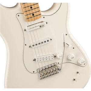 Fender Ed OBrien EOB Sustainer Strat Maple Olympic White Guitar