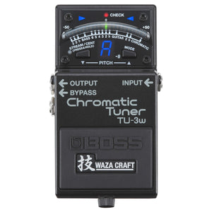 Boss TU-3w Waza Chromatic Guitar Tuner