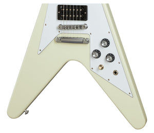 Gibson 70s Flying V Classic White Guitar