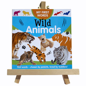"MY FIRST WORDS - ""Wild Animals"""
