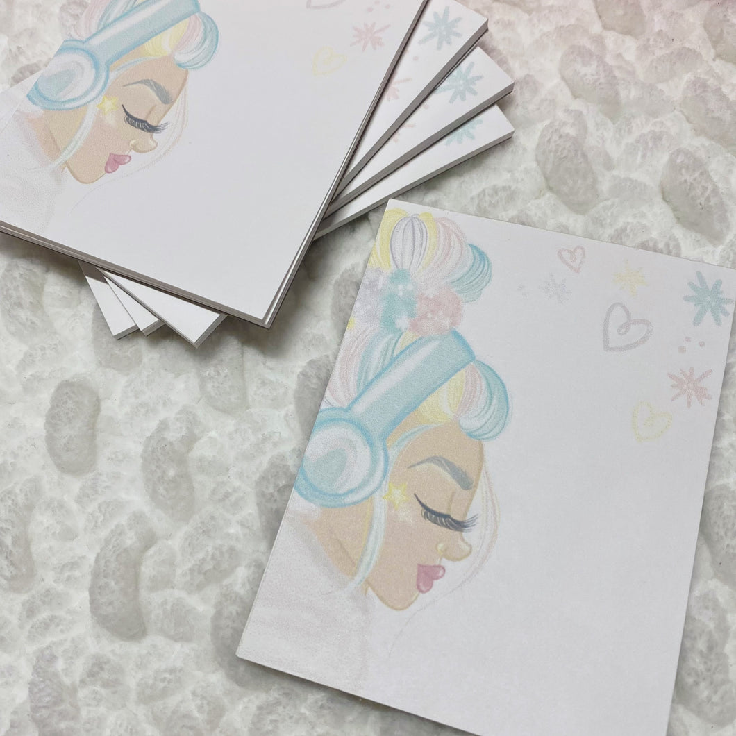 Unbothered Dollie Memo Pad - 20 Sheets