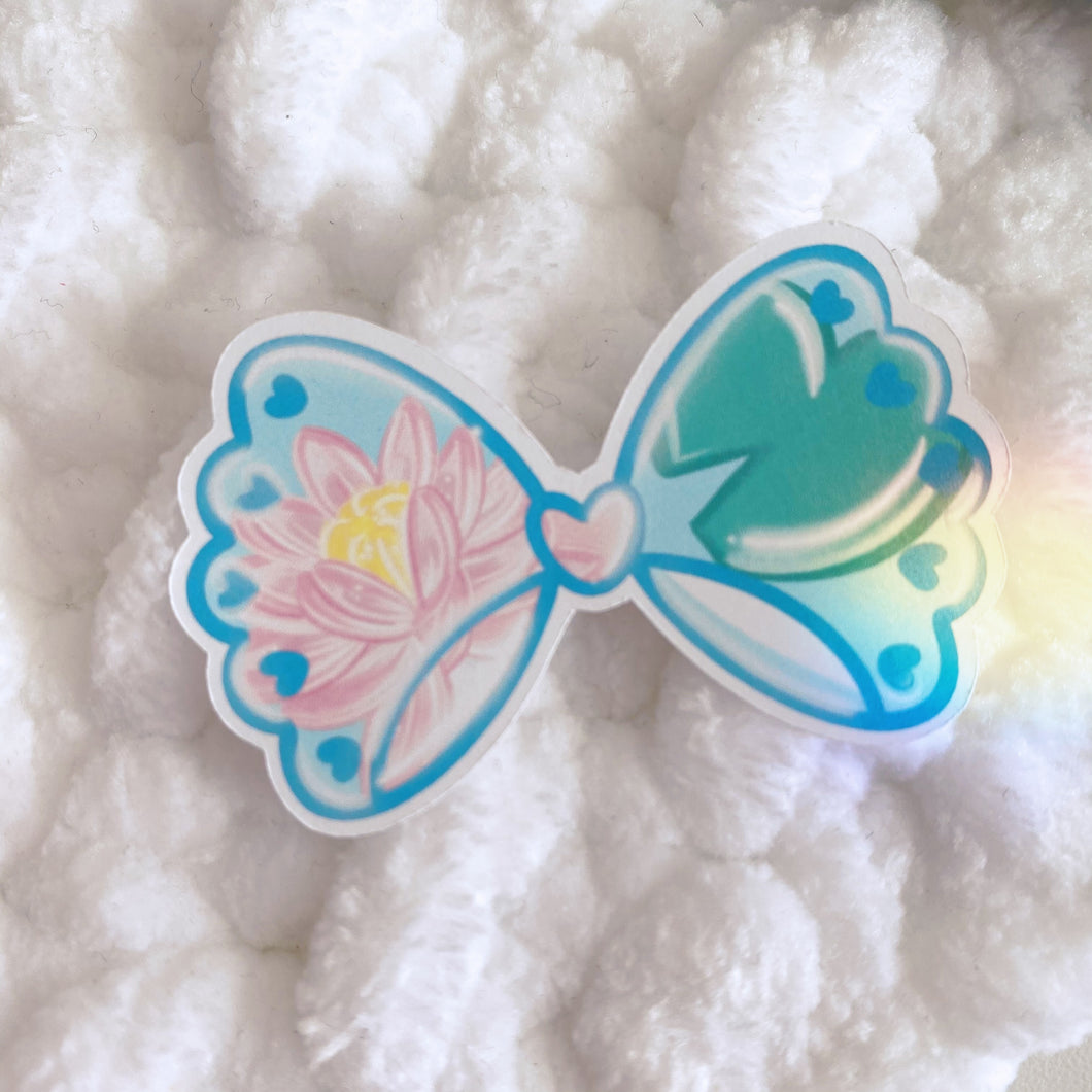 Coconut Cutie HNIS Bow Sticker