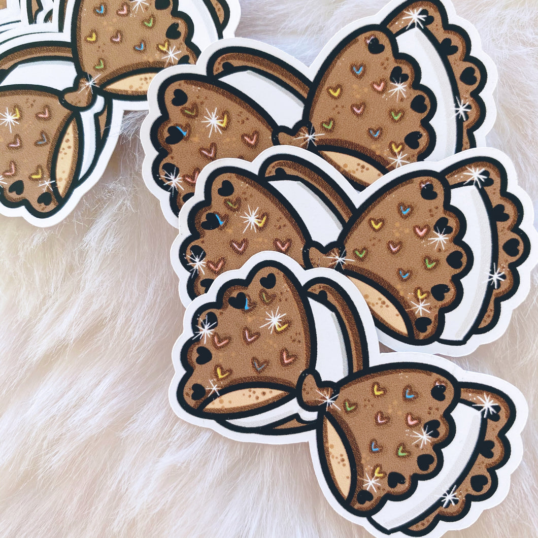 Icecream Sandwich HNIS Bow Sticker