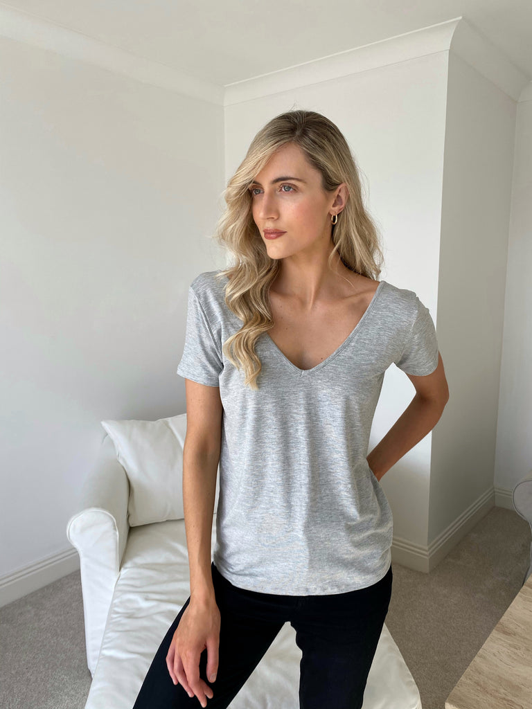 The Marykate Part 2 (Grey v-neck)