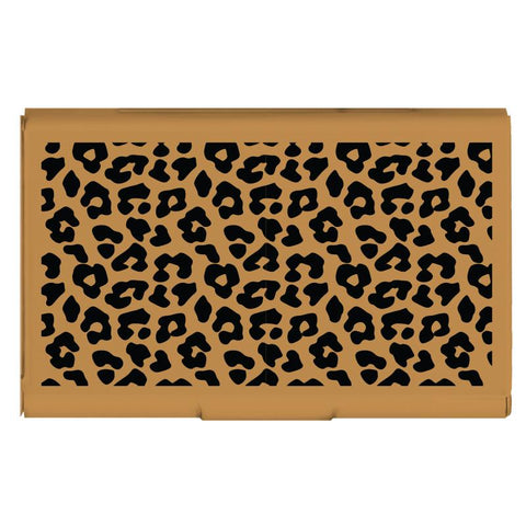 Card Case - Leopard