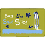Card Case - Sea Sun Sand Surf