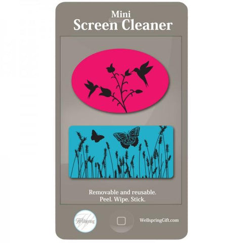Mini Screen Cleaner - Bird & Butterfly