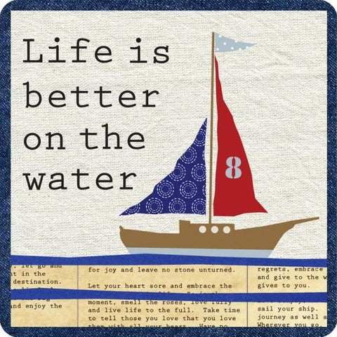 Bumper Sticker - Life is Better on the Water